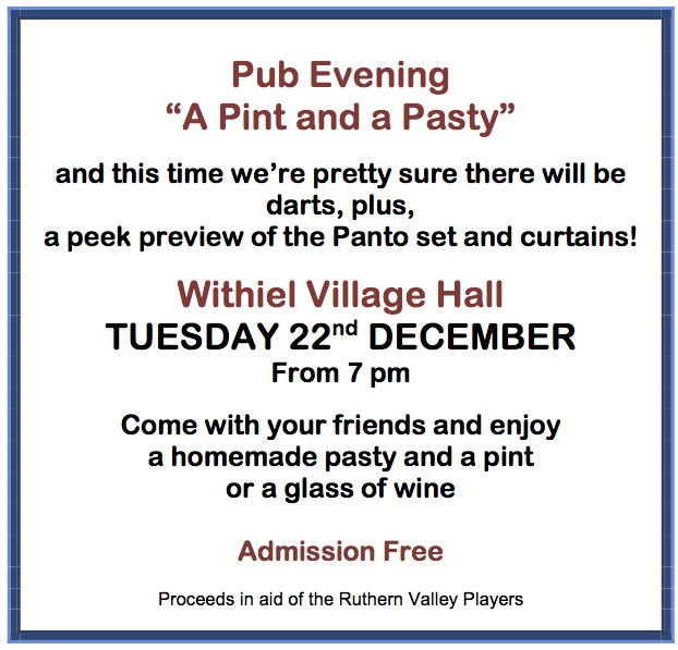 Pre-view Pub Evening 22 Dec
