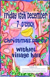 Withiel Christmas Party 16 Dec 2016